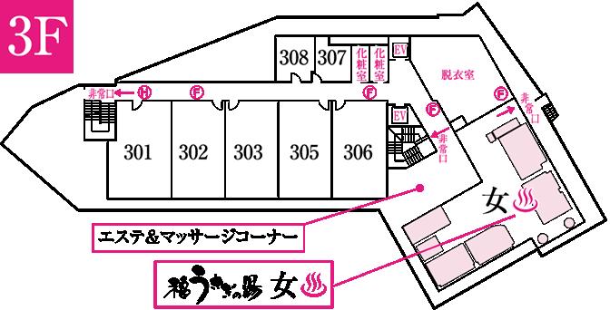 平面図: 3F